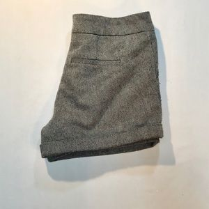 Forever 21 mid rise pinstriped shorts size L $